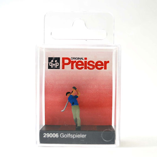 29006 Preiser【ゴルファー】*