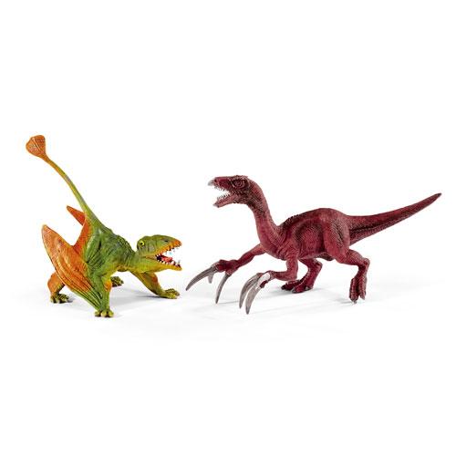 schleich ディモルフォドンとテリジノサウルス(小)