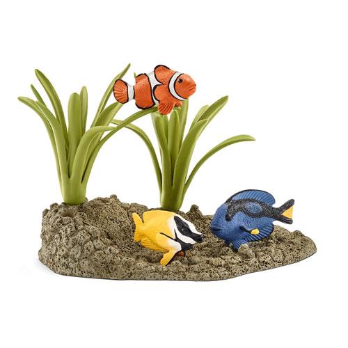 42327 schleich サンゴ礁と熱帯魚(廃盤)