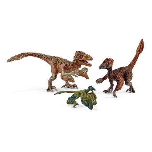 42347 schleich 羽毛恐竜セット[01164]