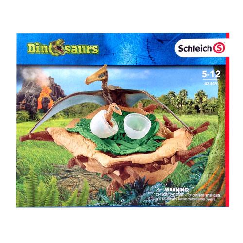 schleich ケツァルコアトルスの巣