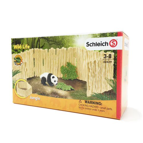 42429 schleich パンダ飼育セット