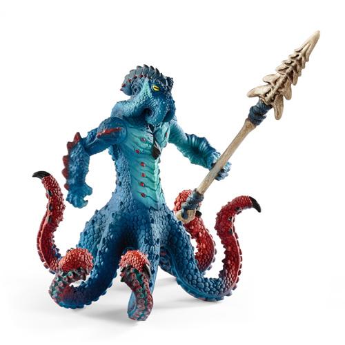 schleich 海の怪物クラーケンとマジカル兵器
