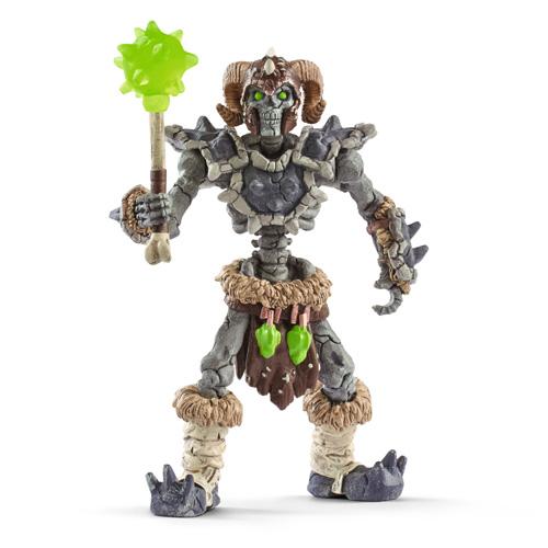 schleich 石の怪人スケルトンとマジカル兵器