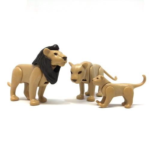 6642 playmobil【ライオンの家族】