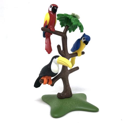 6653 playmobil【熱帯地方の鳥】