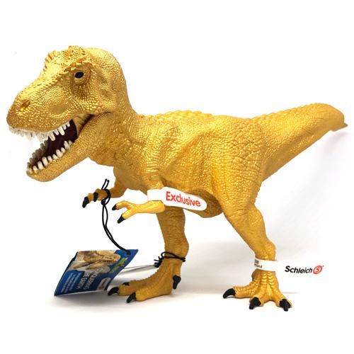 schleich ティラノサウルス・レックス(ゴールド)
