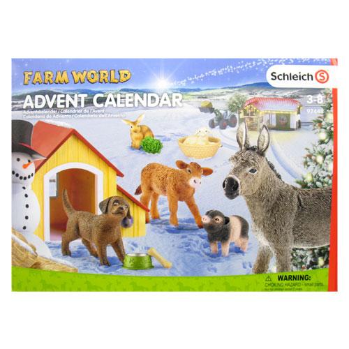 schleich アドベントカレンダー(農場の動物)