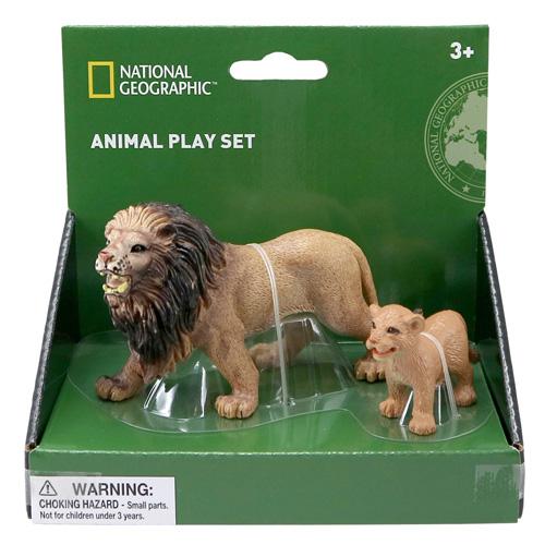 01006 National Geographic 【ライオンの親子】