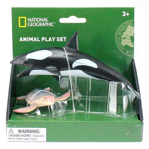 01020 National Geographic 【シャチとアカウミガメ】