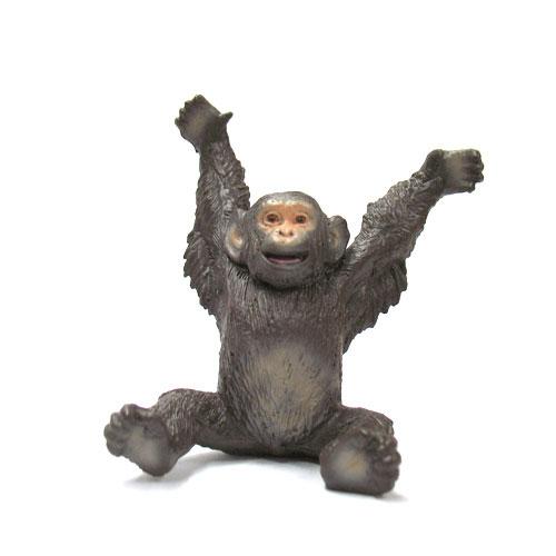 63418 BULLYLAND チンパンジー(仔・座)【絶版】