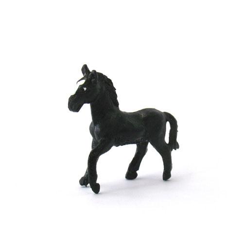 MMF23 BULLYLAND ウマ(黒) ミニ