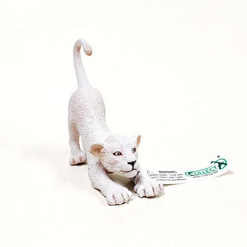 88550 Collecta【ホワイトライオン(仔・伸)】