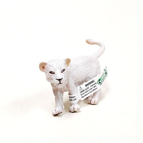 88551 Collecta【ホワイトライオン(仔・歩)】