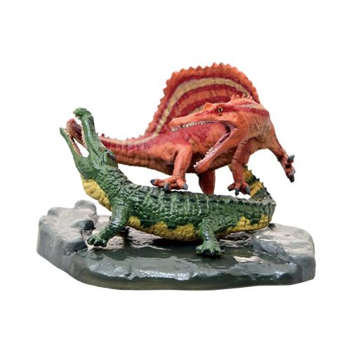 Favorite【スピノサウルス VS サルコスクス ミニモデル】