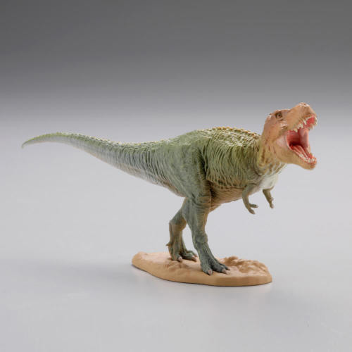 miniQ 恐竜発掘記 恐竜造形大博覧会 第8弾 ティラノサウルス【グリーン】