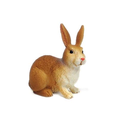 387030 mojo【ウサギ(茶&白)】