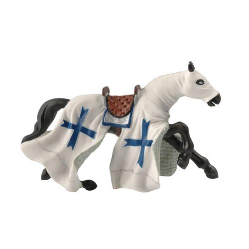 39364 Papo【十字軍戦士の馬 blue】