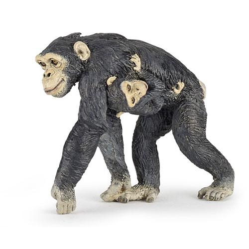 50194 Papo【チンパンジーの親子】