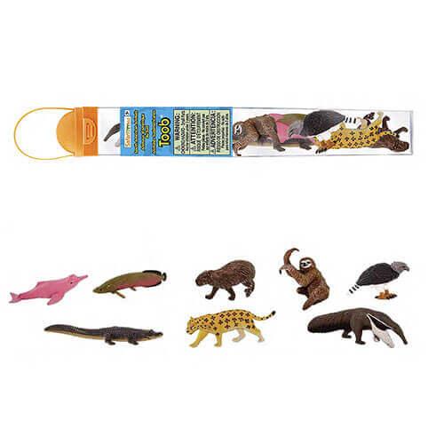 100684 Safari【南アメリカの動物 チューブ】NEW