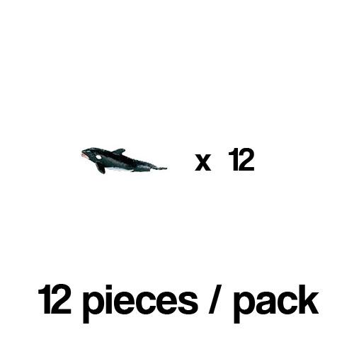 341022_12 Safari【ミニ シャチ(12個)】