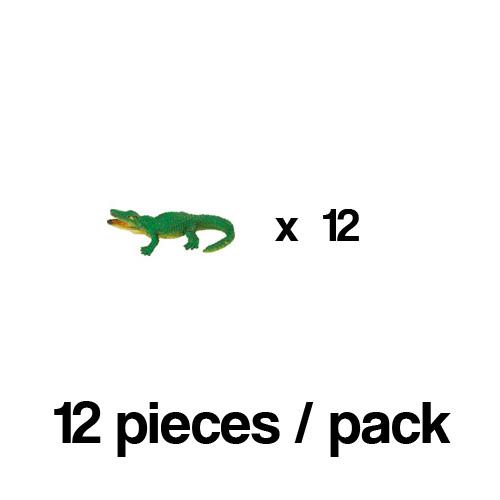 341122_12 Safari【ミニ アリゲーター(12個)】