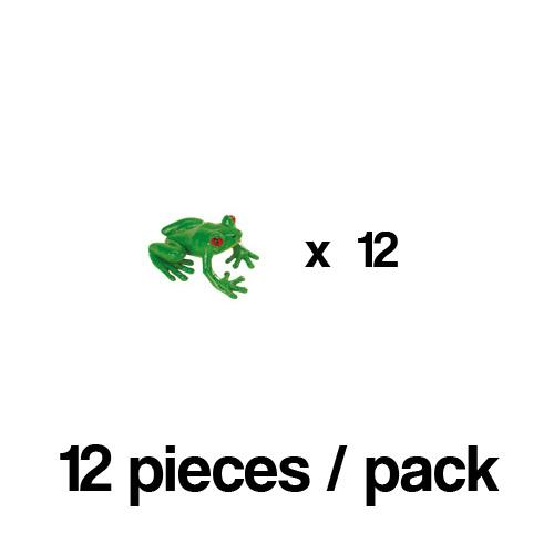 341222_12 Safari【ミニ カエル(12個)】