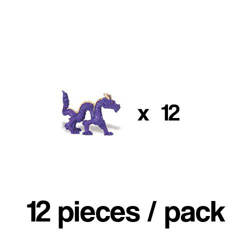 341922_12 Safari【ミニ チャイニーズドラゴン(12個)】