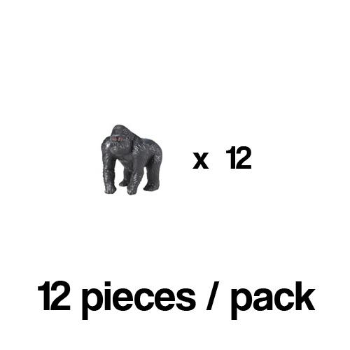 343322_12 Safari【ミニ ゴリラ(12個)】