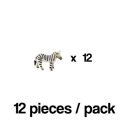 351122_12 Safari【ミニ シマウマ(12個)】