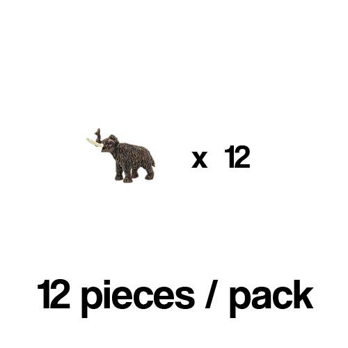 351622_12 Safari【ミニ ウーリーマンモス(12個)】