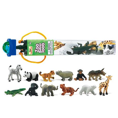 680004 Safari【ズーアニマルベビー チューブ】